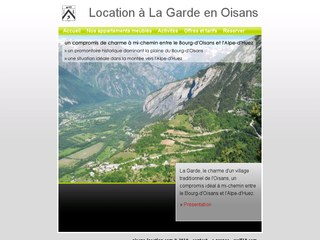 Location à La Garde en Oisans